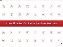 Icons Slide For Car Lease Services Proposal Ppt Powerpoint Presentation Outline