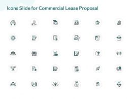 Icons Slide For Commercial Lease Proposal Ppt Powerpoint Presentation Styles Slides