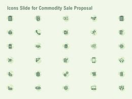 Icons Slide For Commodity Sale Proposal Ppt Powerpoint Presentation Design Templates