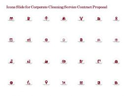 Icons Slide For Corporate Cleaning Service Contract Proposal Ppt Powerpoint Ideas