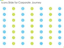 Icons Slide For Corporate Journey Ppt Powerpoint Presentation Gallery Infographics