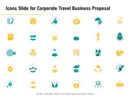 Icons Slide For Corporate Travel Business Proposal Ppt Inspiration