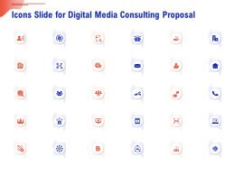 Icons Slide For Digital Media Consulting Proposal Ppt Infographics