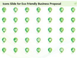 Icons Slide For Eco Friendly Business Proposal Ppt Powerpoint Presentation File Elements