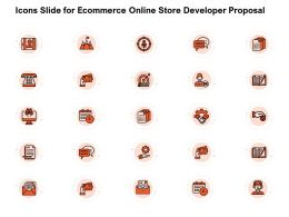 Icons Slide For Ecommerce Online Store Developer Proposal Ppt Powerpoint Presentation Styles Clipart Images