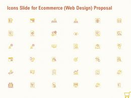 Icons Slide For Ecommerce Web Design Proposal Ppt Powerpoint Presentation Icons