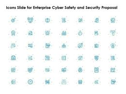Icons Slide For Enterprise Cyber Safety And Security Proposal Ppt File Elements