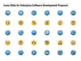 Icons Slide For Enterprise Software Development Proposal Ppt Powerpoint Presentation Examples