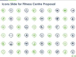 Icons Slide For Fitness Centre Proposal Ppt Powerpoint Presentation Pictures