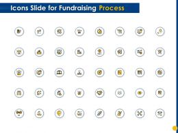 Icons Slide For Fundraising Process Ppt Powerpoint Presentation Professional Sample