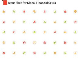 Icons Slide For Global Financial Crisis Ppt Powerpoint Presentation Infographics Brochure