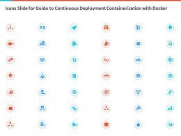 Icons Slide For Guide To Continuous Deployment Containerization With Docker Ppt Slides