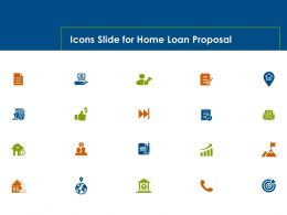 Icons Slide For Home Loan Proposal Ppt Powerpoint Presentation Layouts Templates