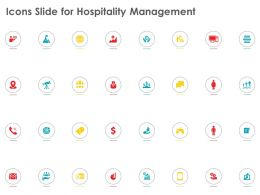 Icons Slide For Hospitality Management Ppt Powerpoint Presentation Professional Aids