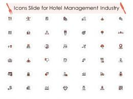 Icons Slide For Hotel Management Industry Hotel Management Industry Ppt Icons
