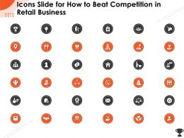 Icons Slide For How To Beat Competition In Retail Business Ppt Powerpoint Presentation File Show
