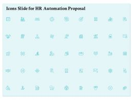 Icons Slide For HR Automation Proposal Ppt Powerpoint Presentation Slides Picture