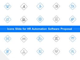 Icons Slide For HR Automation Software Proposal Ppt File Formats