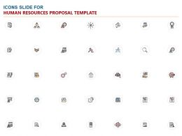 Icons Slide For Human Resources Proposal Template Ppt Powerpoint Presentation Pictures