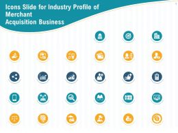 Icons Slide For Industry Profile Of Merchant Acquisition Business Ppt Powerpoint Styles Samples