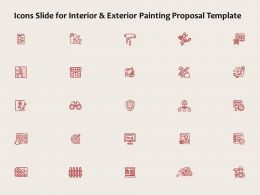 Icons Slide For Interior And Exterior Painting Proposal Template Ppt Powerpoint Presentation Show