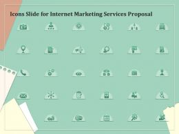 Icons Slide For Internet Marketing Services Proposal Ppt Powerpoint Presentation File Aids