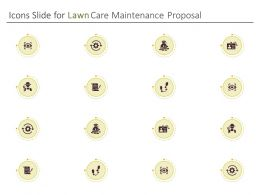 Icons Slide For Lawn Care Maintenance Proposal Ppt Powerpoint Graphics