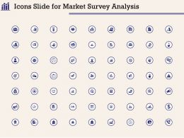 Icons Slide For Market Survey Analysis Ppt Powerpoint Presentation Infographic Template Skills