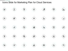 Icons Slide For Marketing Plan For Cloud Services Ppt Powerpoint Presentation Gallery Demonstration