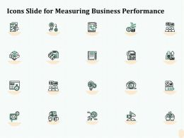 Icons Slide For Measuring Business Performance Ppt File Format Ideas