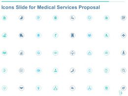 Icons Slide For Medical Services Proposal Ppt Powerpoint Presentation Model Picture
