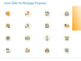 Icons Slide For Mortgage Proposal Ppt Powerpoint Presentation Icon Professional