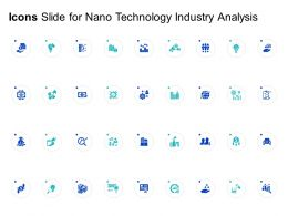 Icons Slide For Nano Technology Industry Analysis Ppt Powerpoint Presentation Summary Information