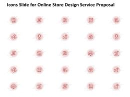 Icons Slide For Online Store Design Service Proposal Ppt Powerpoint Presentation File