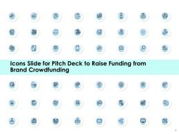 Icons Slide For Pitch Deck To Raise Funding From Brand Crowdfunding Ppt Portfolio