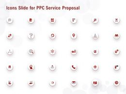 Icons Slide For PPC Service Proposal Ppt Powerpoint Presentation Slides