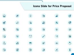 Icons Slide For Price Proposal Ppt Powerpoint Presentation Portfolio Outfit