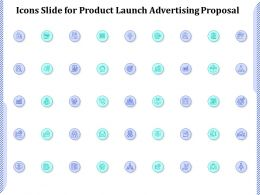Icons Slide For Product Launch Advertising Proposal Ppt Powerpoint Presentation Icon