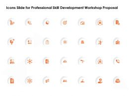 Icons Slide For Professional Skill Development Workshop Proposal Ppt Powerpoint Presentation Show
