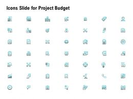 Icons Slide For Project Budget Ppt Powerpoint Presentation Slides Infographics