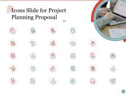 Icons Slide For Project Planning Proposal Ppt Powerpoint Presentation Professional