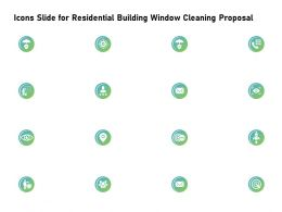 Icons Slide For Residential Building Window Cleaning Proposal Ppt Slides Tips