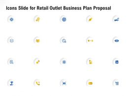 Icons Slide For Retail Outlet Business Plan Proposal Ppt Powerpoint Presentation Vector