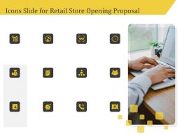 Icons Slide For Retail Store Opening Proposal Ppt Inspiration