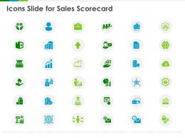 Icons Slide For Sales Scorecard Ppt Powerpoint Presentation Show Slide Portrait