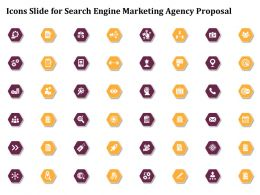 Icons Slide For Search Engine Marketing Agency Proposal Ppt File Aids