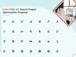 Icons Slide For Search Engine Optimization Proposal Ppt Powerpoint Presentation Templates