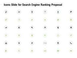 Icons Slide For Search Engine Ranking Proposal Ppt Powerpoint Presentation Background