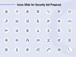 Icons Slide For Security Bid Proposal Ppt Powerpoint Presentation Portfolio