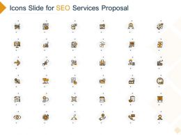 Icons Slide For SEO Services Proposal Ppt Powerpoint Presentation Infographic